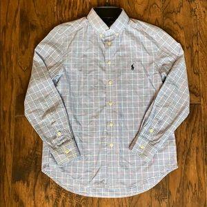 Ralph Lauren boys size medium shirt.